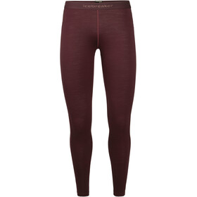 Icebreaker 200 Oasis Leggings Dame redwood